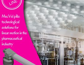 MecVel Pink Line - Technological solutions for linear motion in the pharmaceutical industry
