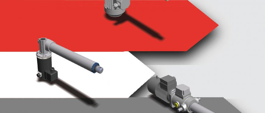 MecVel Linearantriebe Katalog: our linear actuators catalog is now in German