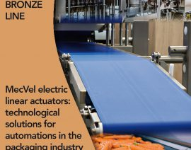 MecVel electric linear actuators: technological solutions for automations in the packaging industry