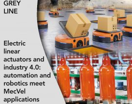 Electric linear actuators and industry 4.0