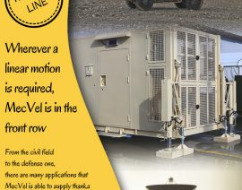 MecVel Yellow Line - Wherever a linear motion is required, MecVel is in the front row